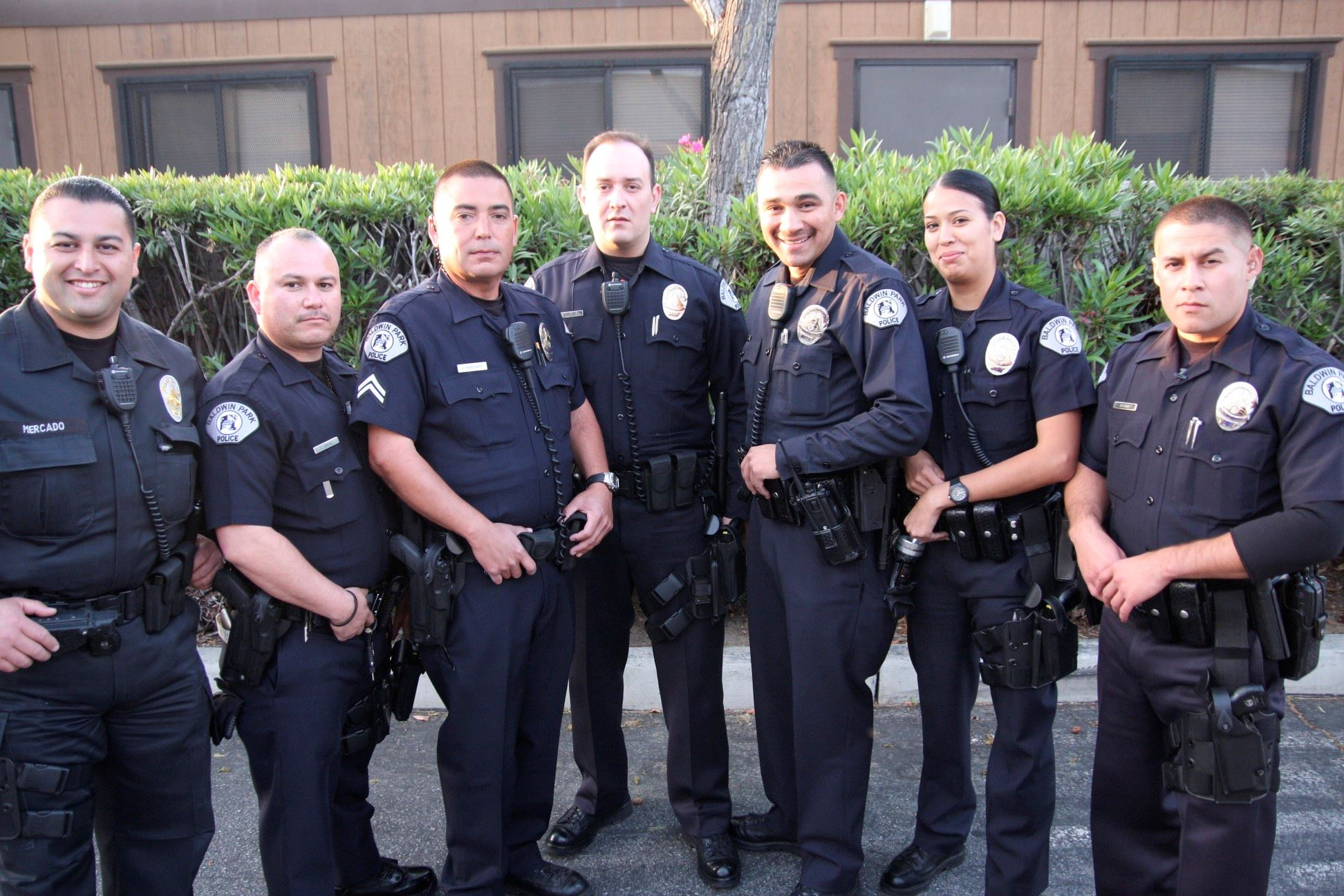 Baldwin Park Police Department Patrol Officers